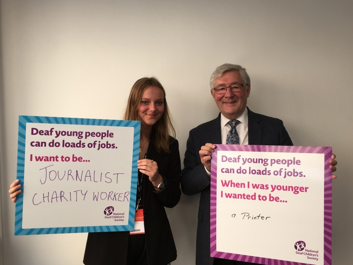 Esther and Tony Lloyd MP